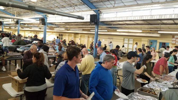 Giving Back: Feeding the Homeless