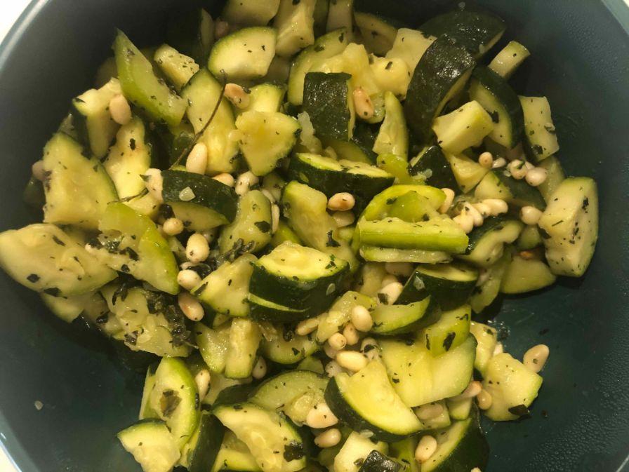 Zucchini Gazpacho
