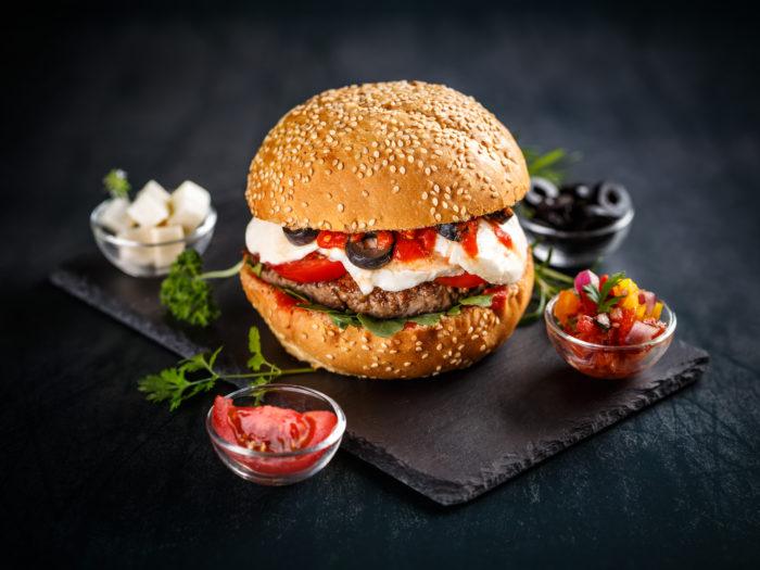 OPA! Foods | Greek Burger